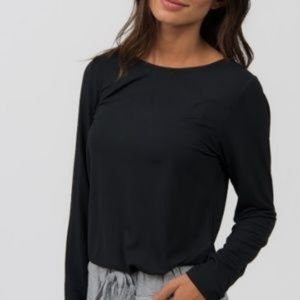 Agnes and Dora Fitted Long Sleeve Tee